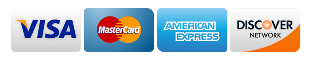 all major credit cards and CareCredit